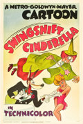 "Movie Posters:Animation, Swing Shift Cinderella (MGM, 1945). One Sheet (27"" X 41"").. ..."
