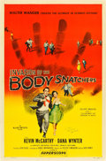 "Movie Posters:Science Fiction, Invasion of the Body Snatchers (Allied Artists, 1956). AutographedOne Sheet (27"" X 41"").. ..."