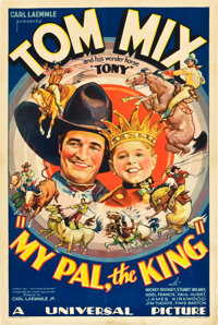 "My Pal, the King (Universal, 1932). One Sheet (27"" X 41"")"