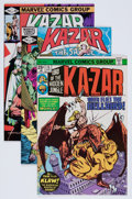 Modern Age (1980-Present):Miscellaneous, Ka-Zar Related Capital City Collection Group (Marvel, 1975-97) Condition: Average NM.... (Total: 46 Comic Books)
