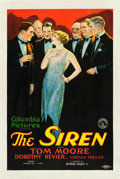 "Movie Posters:Drama, The Siren (Columbia, 1927). One Sheet (27"" X 41"") Style B.. ..."