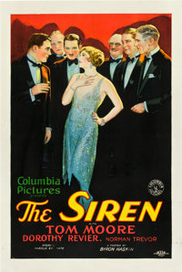 "The Siren (Columbia, 1927). One Sheet (27"" X 41"") Style B"