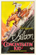 "Movie Posters:Western, Concentratin' Kid (Universal, 1930). One Sheet (27"" X 41"").. ..."