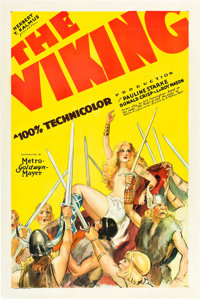 "The Viking (MGM, 1928). One Sheet (27"" X 41"")"