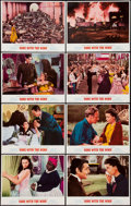 "Movie Posters:Academy Award Winners, Gone with the Wind (MGM, R-1968 and R-74). Lobby Card Set of 8 (11"" X 14""). Academy Award Winners.. ... (Total: 8 Items)"