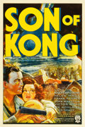 "Movie Posters:Horror, Son of Kong (RKO, 1933). MP Graded One Sheet (27"" X 41"") Style A.. ..."