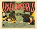 "Movie Posters:Crime, Underworld (Paramount, 1927). Half Sheet (22"" X 28"") Style B.. ..."
