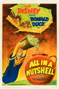"Movie Posters:Animation, All in a Nutshell (RKO, 1949). One Sheet (27"" X 41"").. ..."
