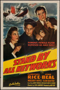 """Movie Posters:War, Stand By All Networks (Columbia, 1942). One Sheet (27"""" X 41"""").War.. ..."""