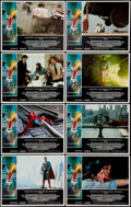 "Movie Posters:Action, Superman the Movie (Warner Brothers, 1978). Lobby Card Set of 8(11"" X 14""). Action.. ... (Total: 8 Items)"
