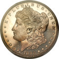 Proof Morgan Dollars, 1880 $1 PR66 Cameo PCGS....