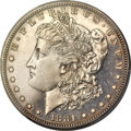 Proof Morgan Dollars, 1881 $1 PR64 Cameo PCGS....