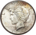 Peace Dollars, 1922-S $1 MS65+ PCGS. CAC....