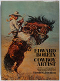 Books:Art & Architecture, [Edward Borein, subject]. SIGNED. Harold G. Davidson. Edward Borein Cowboy Artist. Doubleday, 1974. First trade edit...