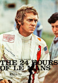 "Movie Posters:Sports, Le Mans (Towa, 1971). Japanese B2s (2) (20"" X 29"") Style A and Style B.. ... (Total: 2 Items)"