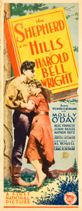 """Movie Posters:Drama, The Shepherd of the Hills (First National, 1928). Insert (14"""" X36"""").. ..."""