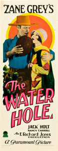 "Movie Posters:Western, The Water Hole (Paramount, 1928). Insert (14"" X 36"").. ..."