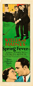 "Movie Posters:Comedy, Spring Fever (MGM, 1927). Insert (14"" X 36"").. ..."