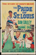 "Movie Posters:Sports, The Pride of St. Louis (20th Century Fox, 1952). One Sheet (27"" X 41""). Sports.. ..."