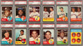 Baseball Cards:Sets, 1963 Topps Baseball High Grade Complete Set (576) With 217 Graded Cards! ...