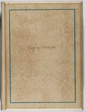 Books:Literature 1900-up, Eugene O'Neill. SIGNED LIMITED EDITION. Strange Interlude.Boni & Liveright, 1928. First edition, one of 775 c...