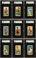 Baseball Cards:Lots, 1909-11 T206 Piedmont - National Leaguers - Collection (78Different). ...