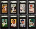 Baseball Cards:Sets, 1951 Bowman Baseball Near Set (320/324). ...