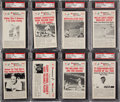 Baseball Cards:Sets, 1960 Nu Card Hi Lites High Grade Complete Set (72). ...
