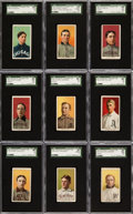 Baseball Cards:Lots, 1909-11 T206 White Borders Collection (55) - An Exclusive PortraitCollection. ...