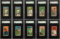 """Baseball Cards:Lots, 1909-11 T206 White Borders SGC-Graded Collection (30) - AnExclusive """"Old Mill"""" Assembly. ..."""