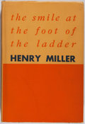 Books:Literature 1900-up, Henry Miller. INSCRIBED. the smile at the foot of the ladder. Duell, Sloan & Pearce, [1948]. First edition. In...