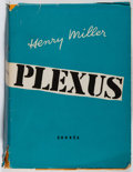Books:Literature 1900-up, Henry Miller. INSCRIBED. Plexus. Correa, [1952]. FirstFrench edition, one of 100 copies (copy number 3). Inscribe...