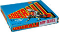 Football Cards:Sets, 1972 Topps Football Second Series Unopened Wax Box With 24 Packs. ...