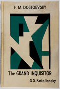 Books:Literature Pre-1900, Fyodor Dostoevsky. The Grand Inquisitor. With anintroduction by D. H. Lawrence. Elkin Matthews & Marrot,1930. ...