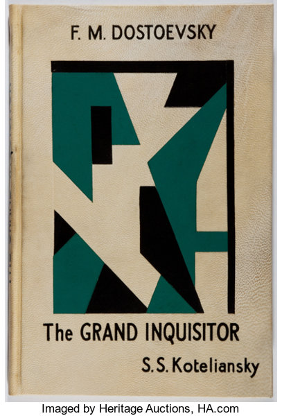 Fyodor Dostoevsky The Grand Inquisitor With An Introduction By D