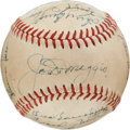 Autographs:Baseballs, 1948 New York Yankees Team Signed Baseball....