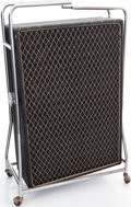Musical Instruments:Amplifiers, PA, & Effects, Circa 1967 Vox Beatle Black Speaker Cabinet....