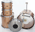 Musical Instruments:Drums & Percussion, Circa 1966 Slingerland Champaign Sparkle 5-Piece Drum Kit. ...