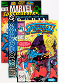 Modern Age (1980-Present):Miscellaneous, Marvel/DC and Others Short Box Group (Various, 1980s-2000) Condition: Average NM....
