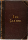 Books:Literature Pre-1900, [Engravings]. The Aldine. A Typographic Art Journal.Sutton, 1873. Volume V. Folio. Binding rubbed, text a b...