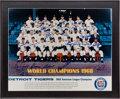 Autographs:Photos, 1968 Detroit Tigers Team Signed Photograph....