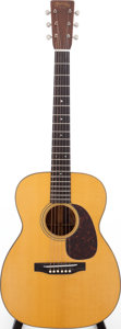 Musical Instruments:Acoustic Guitars, 1938 Martin 00-18 Natural Acoustic Guitar, Serial # 71509....