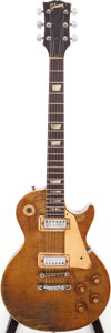 Musical Instruments:Electric Guitars, 1969 Gibson Les Paul Deluxe Goldtop Solid Body Electric Guitar, Serial # 885014....