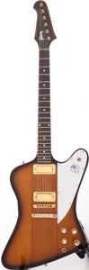 Musical Instruments:Electric Guitars, 1976 Gibson Bicentennial Firebird Sunburst Solid Body ElectricGuitar, Serial # 00229726....