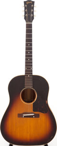 Musical Instruments:Acoustic Guitars, 1960 Gibson J-45 Sunburst Acoustic Guitar, Serial # R4311. ...