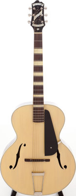 1933 Epiphone Broadway Natural Archtop Acoustic Guitar, Serial # 6638