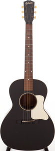 Musical Instruments:Acoustic Guitars, Late 1930s Gibson L-0 Black Acoustic Guitar....