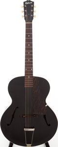 Musical Instruments:Acoustic Guitars, Circa 1944 Gibson Wartime Special Black Archtop Acoustic Guitar....
