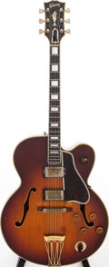 Musical Instruments:Electric Guitars, 1960 Gibson Byrdland Sunburst Semi-Hollow Body Electric Guitar,Serial # A32880....