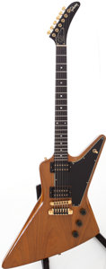 Musical Instruments:Electric Guitars, 1979 Gibson Explorer II Natural Solid Body Electric Guitar, Serial# 73169053....